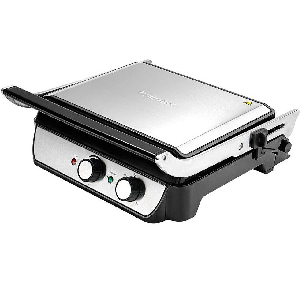 Электрогриль Kitfort КТ-1630Грили<br>Благодаря электрогрилю Kitfort вы сможете приготовить различные аппетитные, а главное — полезные блюда<br>