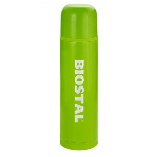 Термос Biostal NB-1000C, 1 литр, зеленыйТермосы<br>Термос с узким горлом NB-1000C ТМ «BIOSTAL» относится к классической серии. Термосы этой серии, являющейся лидером продаж, просты в использовании, экономичны и многофункциональны. Термос предназначен для хранения горячих и холодных напитков (чая, кофе и пр.). Корпус термоса, прокрыт слоем износостойкого цветного лака.<br>