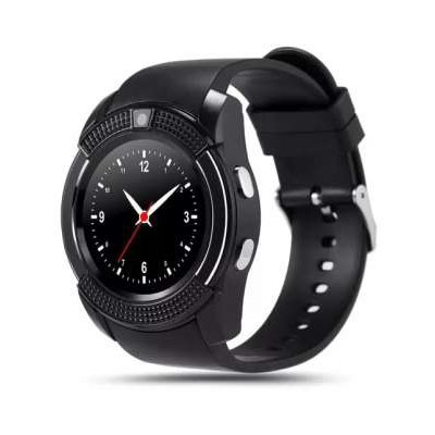 Смарт-часы Smart Watch V8, черныйУмные Smart часы<br>Хотите быть уверенным, что с вашим ребенком все в порядке тогда, когда он находится вдали? Совместите программу на вашем телефоне со смарт-часами Smart Watch V8. Теперь вы всегда будете на связи с чадом, а в любой нестандартной ситуации сможете помочь!<br>