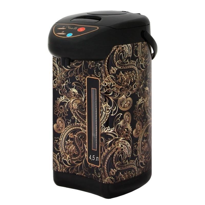 Чайник-термос Великие Реки Чая-10 Узоры, мощность 800 Вт, объем 4,5