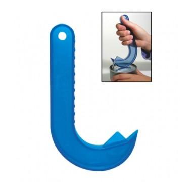 Открывалка для консервных банок с кольцомОткрывалки и пробки<br>Сломанный ноготь, коварный порез пальца – это главные причины, по которым многие люди отказываются от любимых консервов. Срочно меняйте эту неприятную традицию, ведь вам поможет открывалка для консервных банок с кольцом. Цена в интернет магазине Мелеон точно обрадует вас!<br>