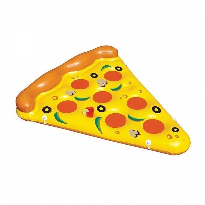 Надувной матрас - ПиццаДля отдыха на воде<br>Любите пиццу, но следите за фигурой? Если вы собираетесь в отпуск, то обязательно прихватите с собой надувной матрас «Пицца». Благодаря этому изделию, вы обеспечите себе незабываемый отдых на море или в бассейне с семьей!<br>