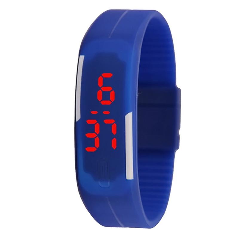 Силиконовые часы Sport, Синий