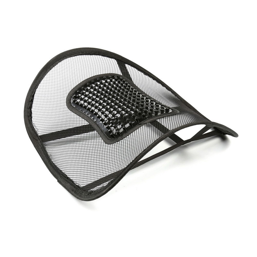 Ортопедическая спинка-подушка с горизонтальным массажером на сиденье 38 x39 см