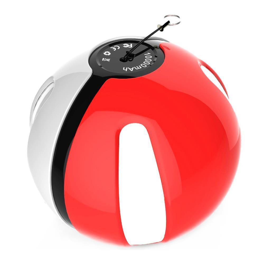 Pokeball Power Bank 10000mAhВнешние аккумуляторы<br>Являетесь поклонником игры про покемонов, которая буквально захватила мир в прошлом году?  Интернет магазин Мелеон предлагает вам купить по суперцене полезное и стильное устройство, которое обеспечит максимальный заряд вашему гаджету в любых условиях. Это -  Pokeball Power Bank 10000mAh!<br>