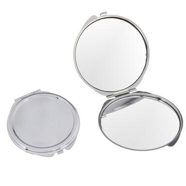 Зеркало круглоеЗеркала<br>Круглое зеркало минималистического дизайна. Обязательный предмет в женской косметичке. Ничего лишнего - зеркало в открывающемся корпусе. Стоит недорого - выглядит достойно.<br>