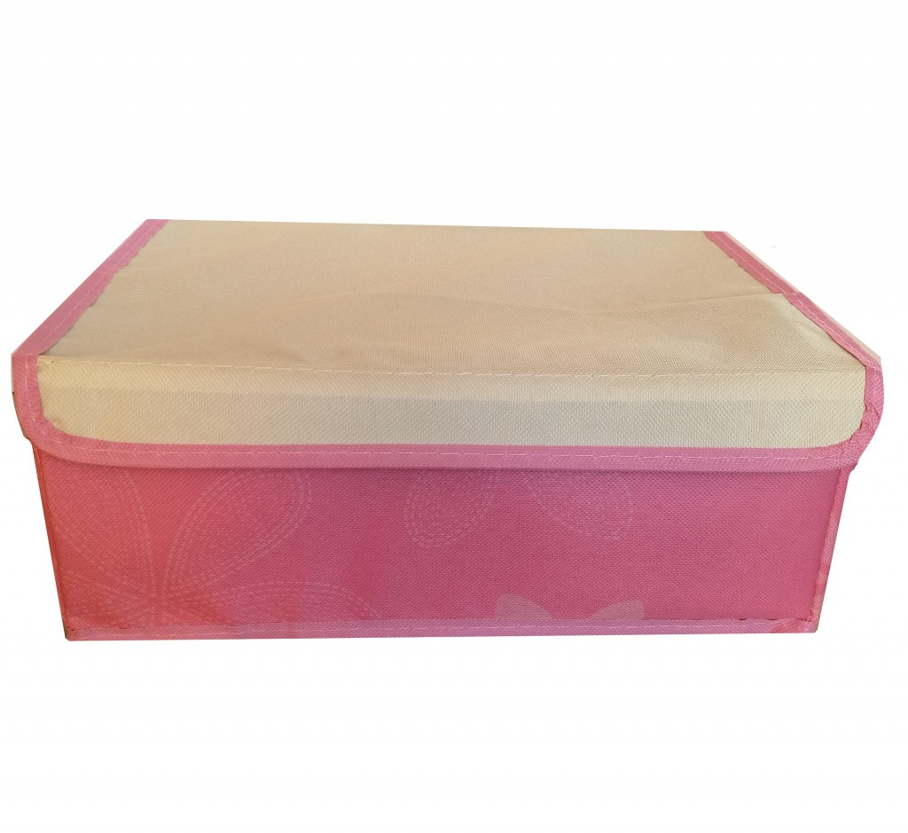Короб для хранения с 8-ю ячейками, 31х24х12 см, розовый
