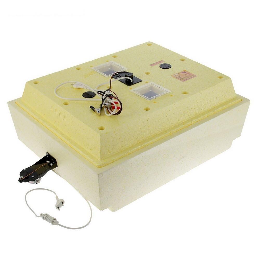 Инкубатор — Золушка-2020, 70 яиц, 220В/12В, автоматический поворот, ЖК дисплей
