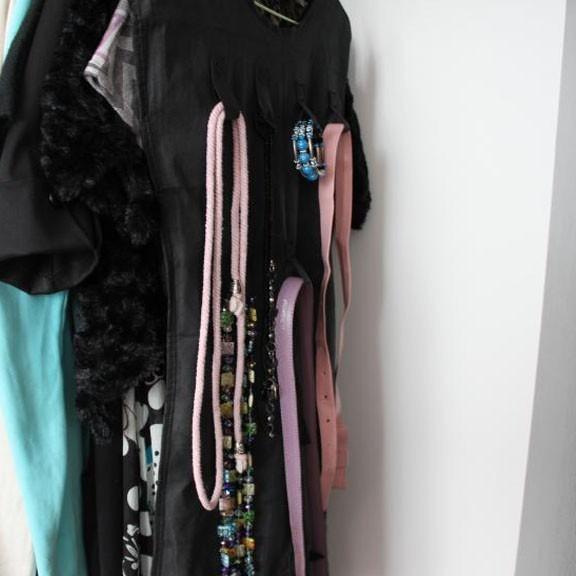 Органайзер платье для бижутерии и украшений little black