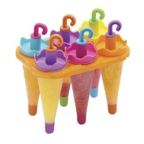Формa для фруктового льда и мороженого - ЗонтикиДля льда и мороженого<br>Как сделать натуральный фруктовый лед или мороженое по-настоящему оригинальным? Вам поможет новая силиконовая форма Зонтики, которую можно купить по доступной цене в интернет магазине Мелеон!<br>