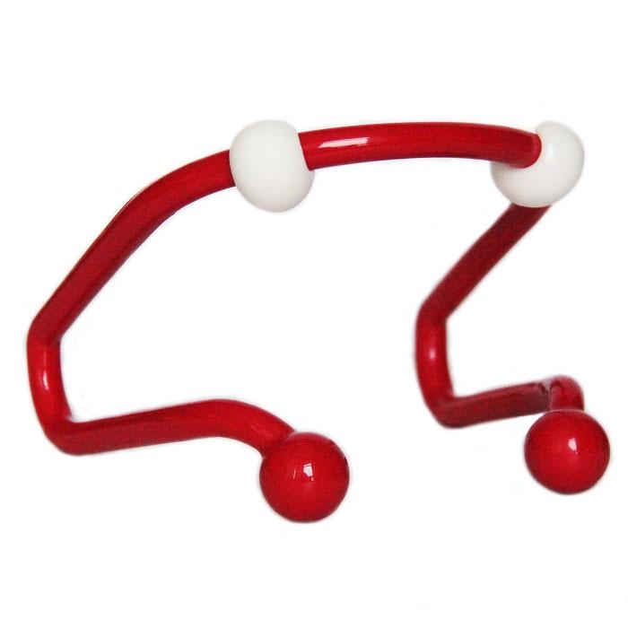 Изогнутый механический массажер для шеи и плечЧесалки для спины<br>Изогнутый механический массажер для шеи и плеч предназначен для самостоятельного массажа проблемных зон шейно-воротникового отдела. Улучшает циркуляцию крови, снимает боль и онемение уставших мышц шеи.<br>