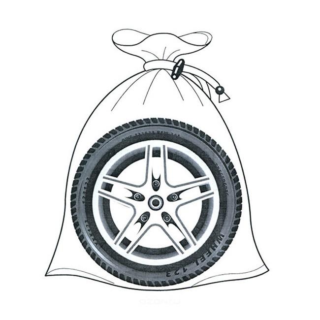 Мешки для хранения шин Bag-020Остальное<br>Если вы давно за рулем, то знаете, что в самый необходимый момент старые шины могут вас подвести…Прелость на дорогих изделиях, ржавчина на дисках…Вы ведь не можете каждый раз покупать новые аксессуары по сумасшедшей цене. Мешки для хранения шин Bag-020 обеспечат шинам сохранность и прекрасный внешний вид даже через много лет!<br>