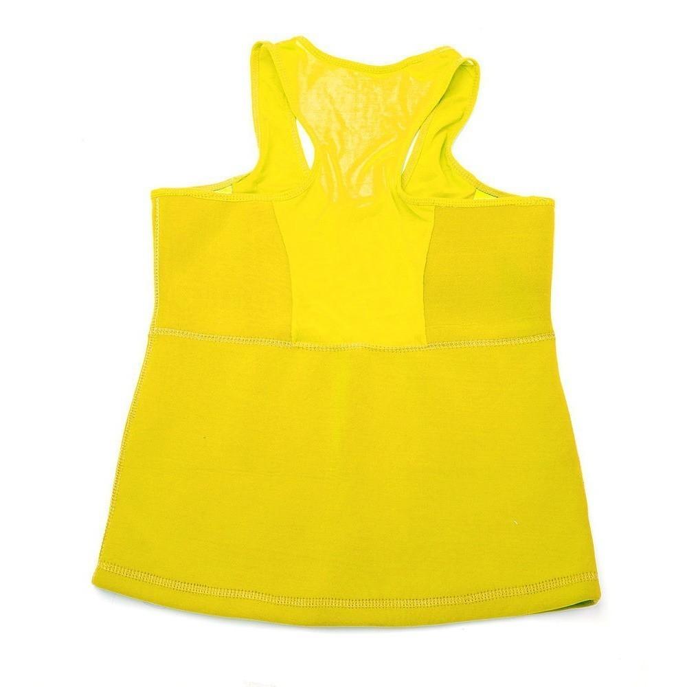 Майка для похудения - body shaper, размер l (жёлтый)