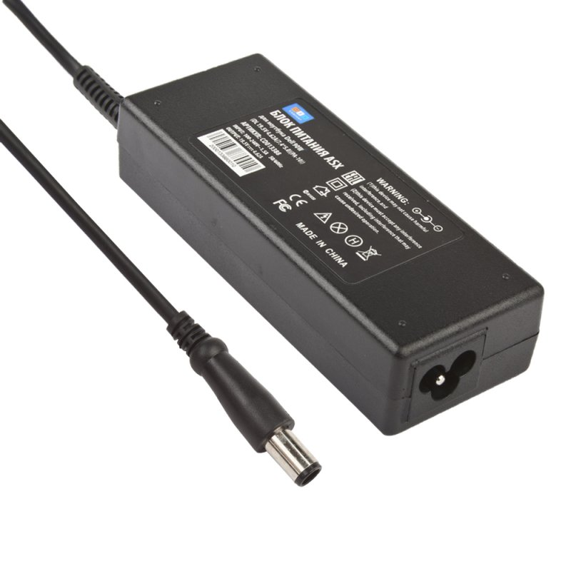 Блок питания ASX для ноутбука Dell 90W (DL 19.5V 4.62A (7.4*5.0)(PA-10))