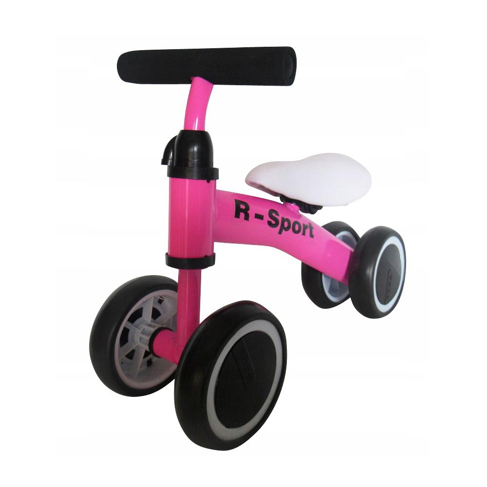 Беговел для детей от 2 лет Whirlee HD-150, Розовый, Подвижные игры  - купить со скидкой
