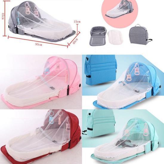 Складная сумка-переноска для ребенка, розовый