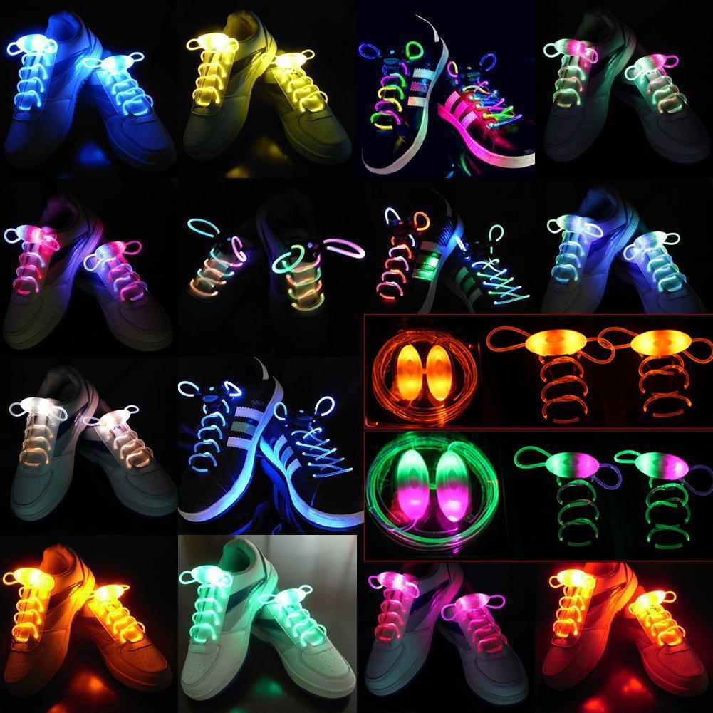 Купить Светодиодные шнурки - двойной цвет, сине-розовый, Товары для вечеринки