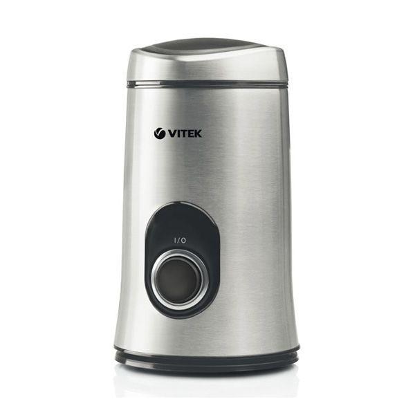 Кофемолка Vitek из нержавеющей стали VT-7123(ST)Кофемолки<br>Если вы любите выпить по утрам чашку горячего, крепкого кофе, то кофемолка Vitek VT-7123 станет для вас прекрасным приобретением.<br>