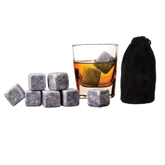 Камни для вискиСервировка стола<br>Виски – это благородный напиток с утонченным вкусом, который выбирает все больше людей. Если вы хотите качественно расслабляться и пить напиток правильной температуры, то следует купить камни для виски в интернет магазине Мелеон.<br>