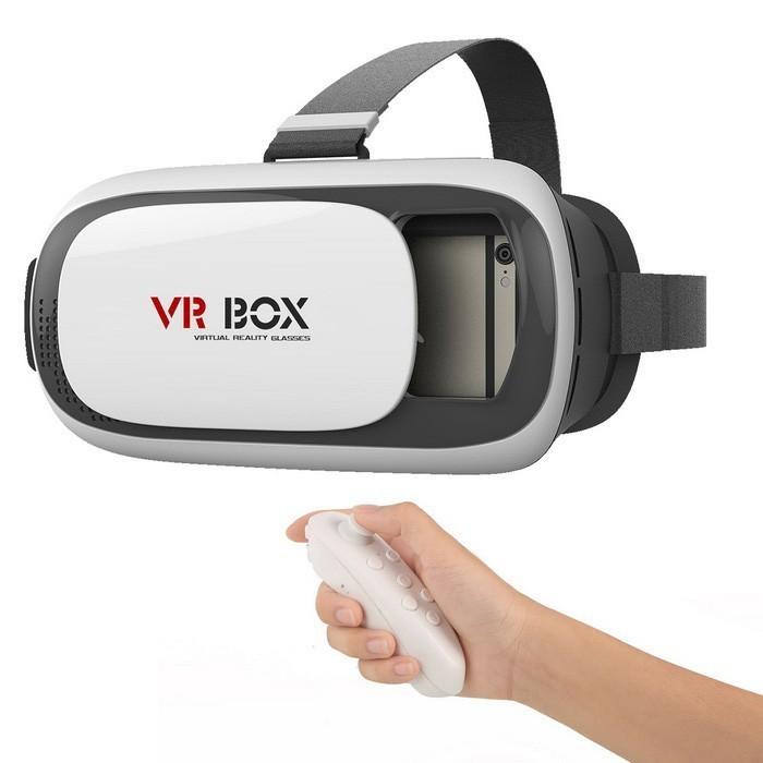 VR Box 2.0 c пультом - виртуальные очки - шлемОчки VR Box<br>Хотите прикоснуться к параллельной реальности в новой 3D игре? Нет проблем! Теперь такой шанс у вас будет всегда, благодаря VR Box 2.0 c пультом - виртуальные очки – шлем. Устройство демонстрирует полноценную 3D картинку, а также отслеживает положение вашей головы в пространстве. А главное – все это доступно вам в любое время дома. Нет необходимости отправляться в кинотеатр или игровой зал!<br>
