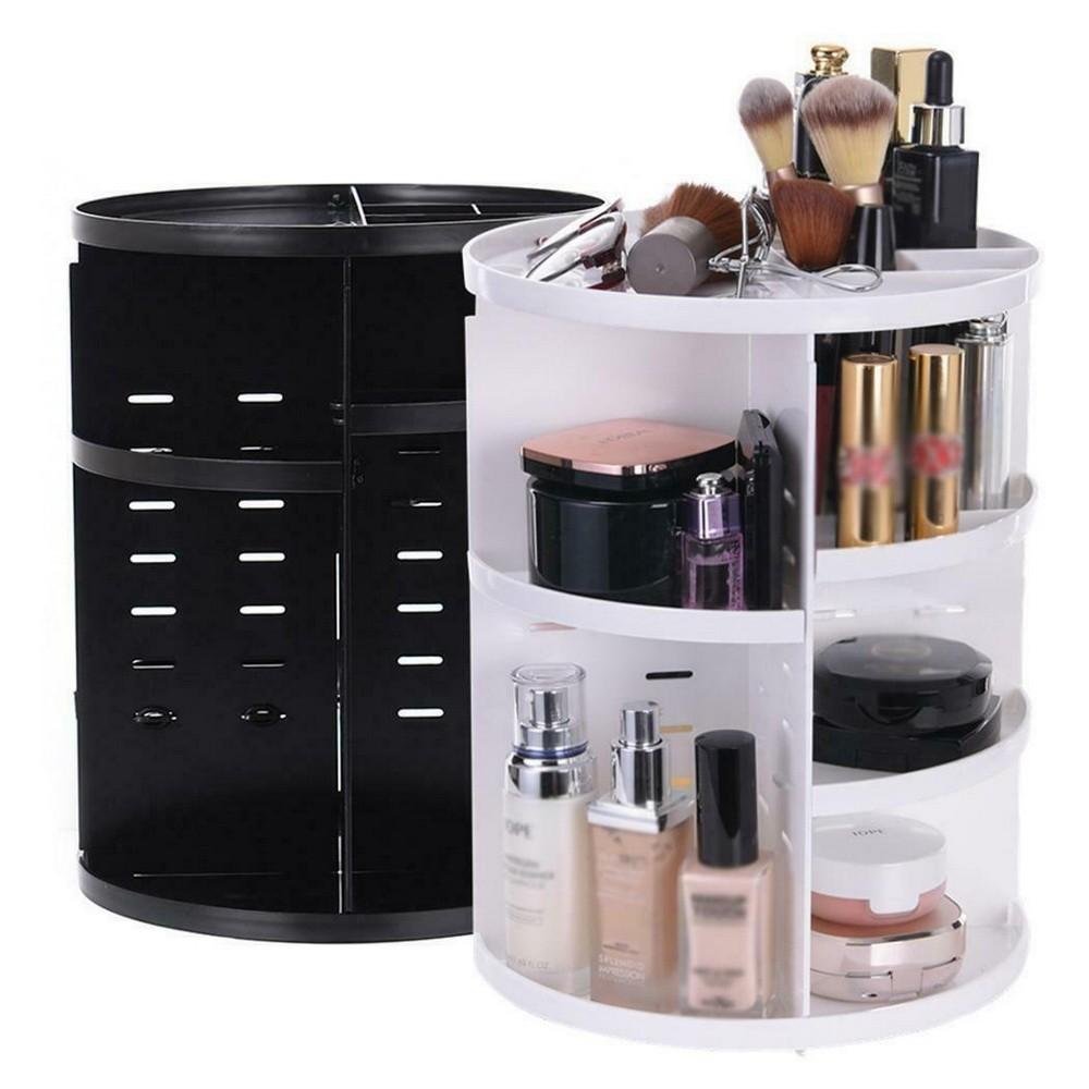 Многофункциональный вращающийся органайзер для косметики 360 Rotation Cosmetic Organizer