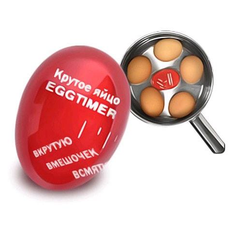 Индикатор для варки яиц Egg timerТермометры и таймеры для готовки<br>Индикатор для варки яиц Egg timer поможет хозяйкам научиться варить яйца всмятку или «в мешочек». Индикатор сигнализирует о степени готовности яиц благодаря обесцвечиванию.<br>