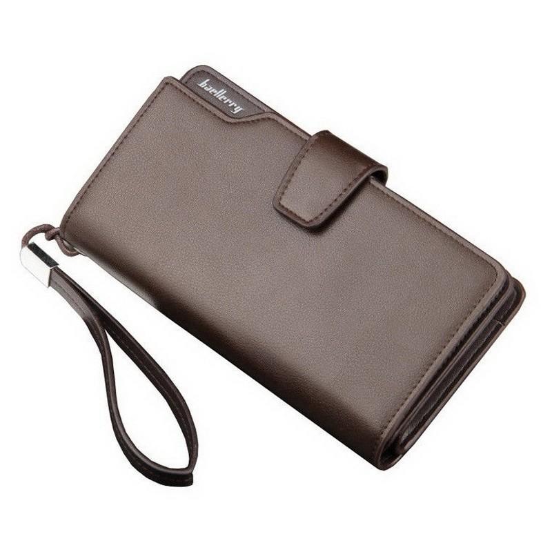 Портмоне клатч Baellerry Business мужское — коричневый