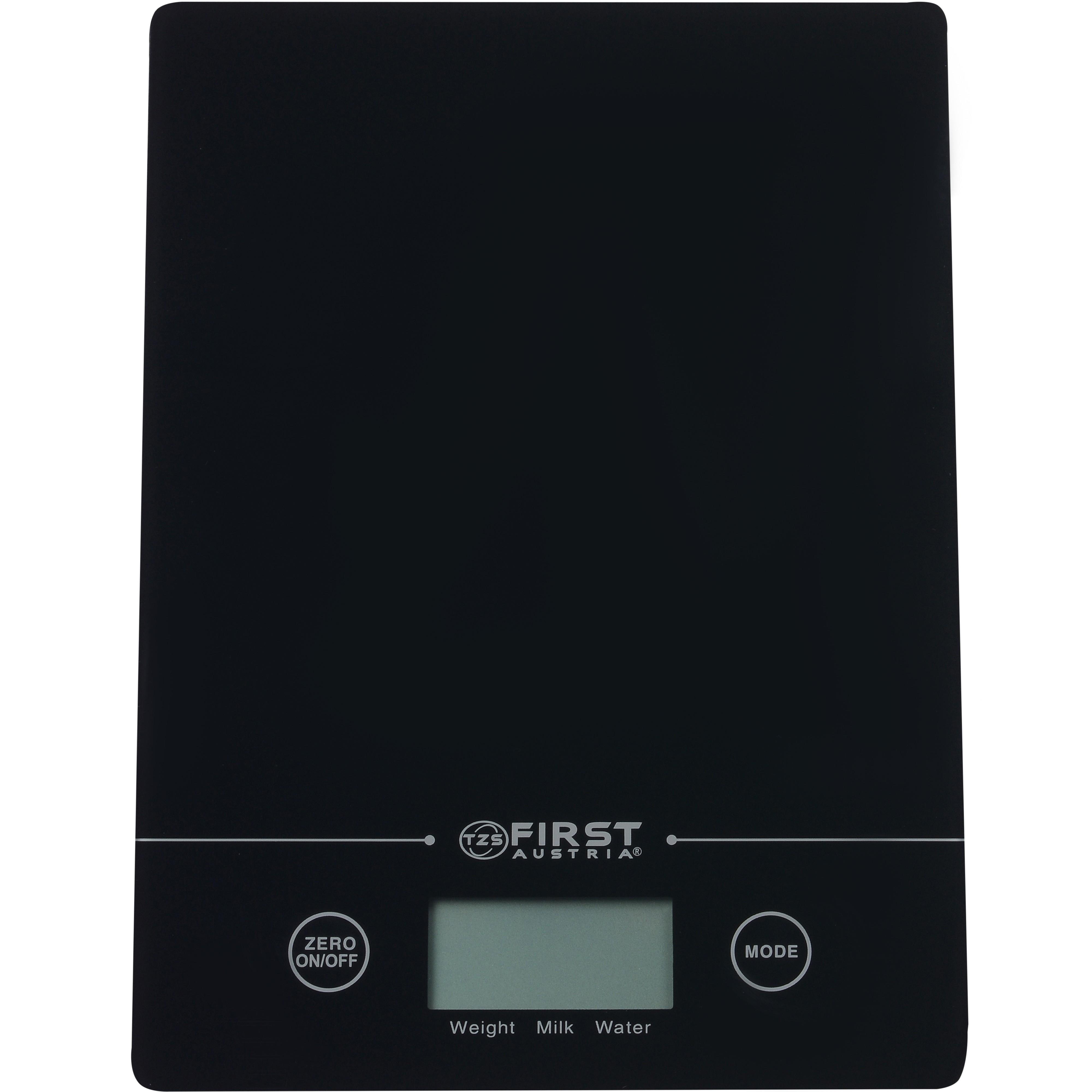Весы кухонные FIRST 6400 black