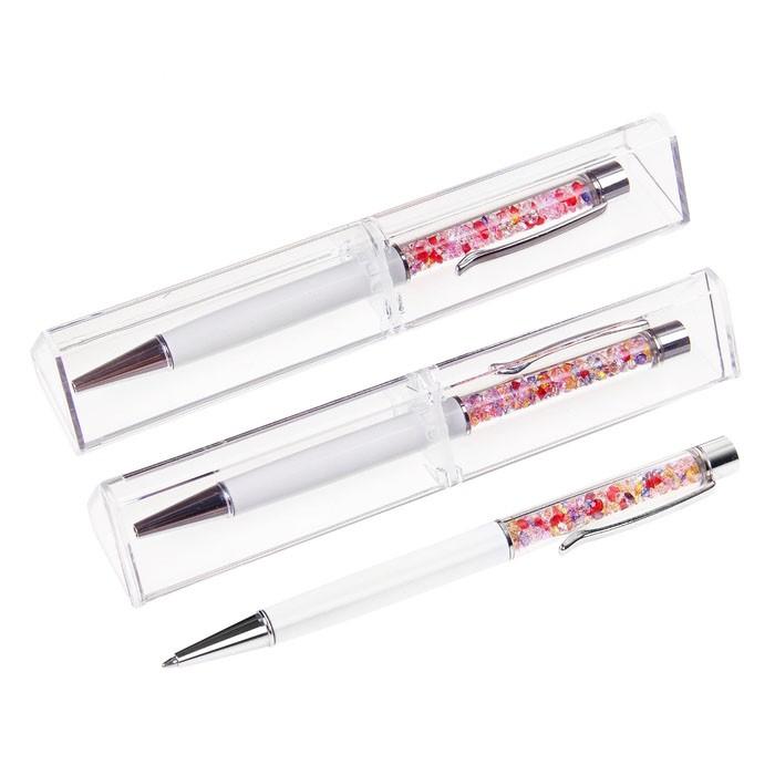 Ручка подарочная в пластиковом футляре - СтразыКанцелярские товары<br>Ручка подарочная в пластиковом футляре – Стразы сочетает в себе высокое качество, превосходный дизайн и доступную цену. Если вы хотите сделать подарок моднице, бизнес леди или просто девушке, работающей в офисе, то изделие станет настоящей находкой!<br>