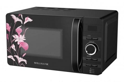 Микроволновая печь WILLMARK WMO-207DHP (20л, 700Вт, электронная ПУ, ручка д/открыв. дверцы, черная)