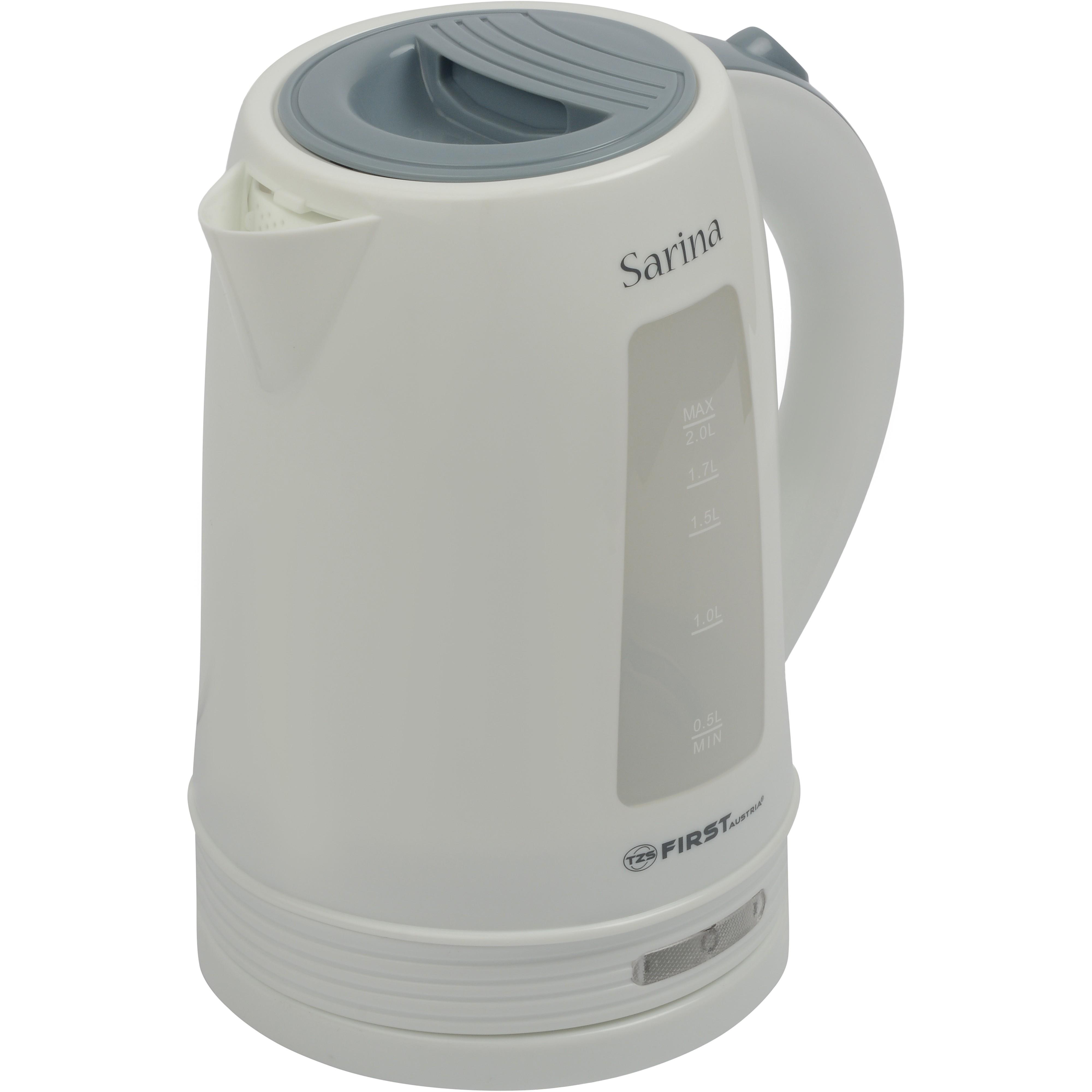Чайник FIRST 5421-2-WI WhiteЭлектрочайники и термопоты<br>Электрический чайник - необходимый в хозяйстве прибор. Если вы ищите недорогой чайник с большим объемом, который быстро вскипятит воду, обратите внимание на модель First FA-5421-2.<br>