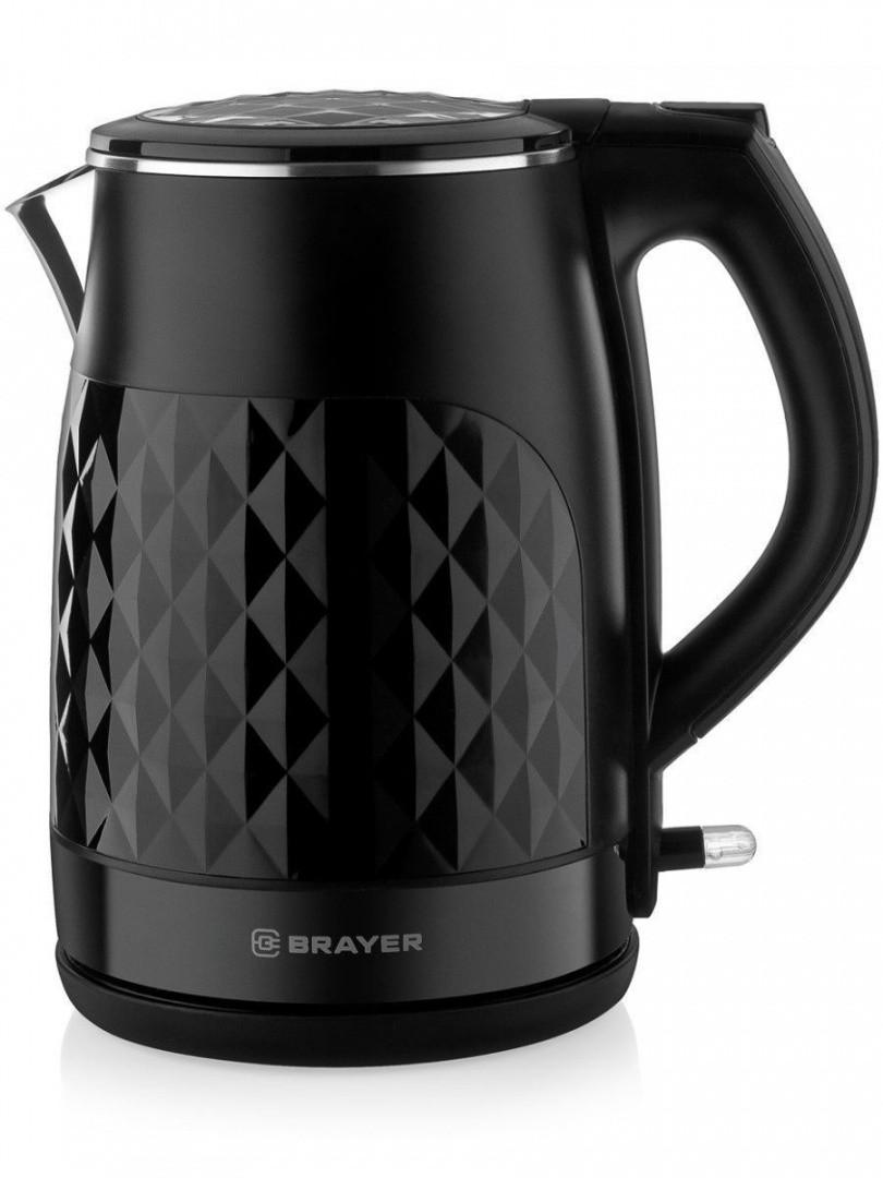 Чайник электрический Brayer BR1009, 2200 Вт, 1,7 л