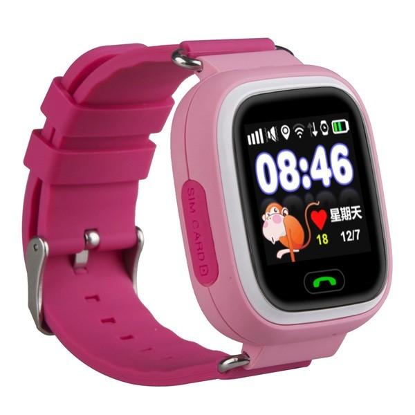 Smart Baby Watch G72 — умные детские часы с GPS, розовые