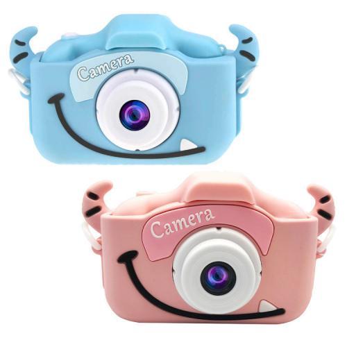 Купить Детский фотоаппарат - Childrens Fun Camera с рогами, розовый, Электронные игрушки