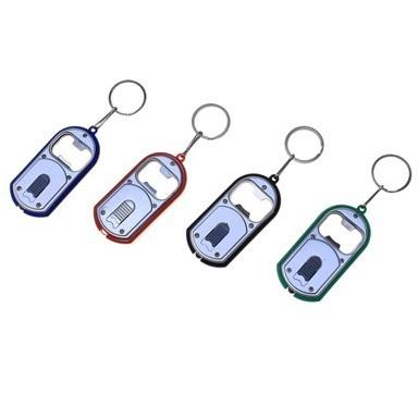 Открывашка световая, с кольцомОтлично крепится ко всем типов ключей. Теперь не прийдется открывать бутылки при помощи подручных средств.<br>