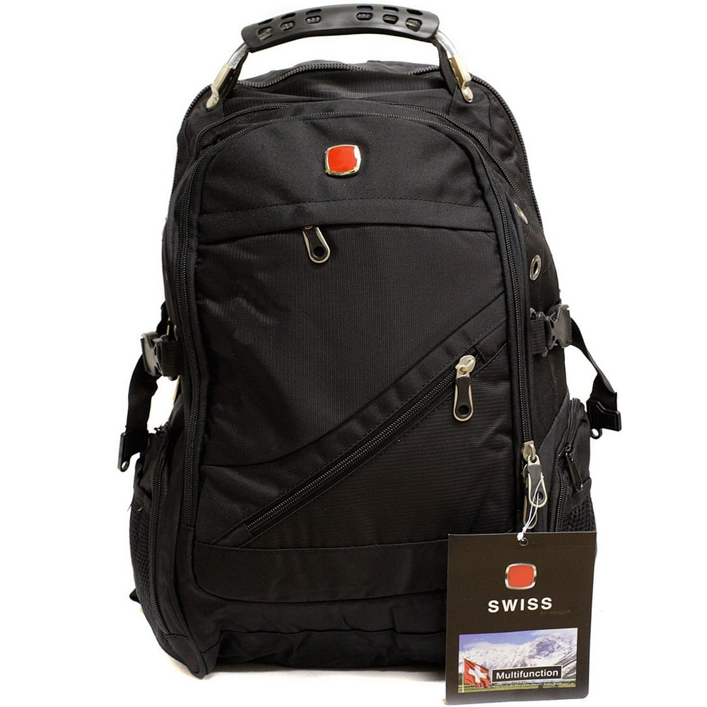 Швейцарский рюкзак - модель 8810Сумки и рюкзаки<br>Ищете оригинальный и удобный рюкзак для всех случаев жизни? Обязательно рассмотрите эту модель швейцарского рюкзака с множеством карманов, встроенным органайзером и специальным отсеком под ноутбук. Возможности рюкзака безграничны!<br>