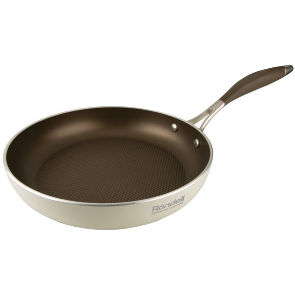 Сковорода Rondell Mocco&Latte 26 cмСковороды<br>Сковорода Rondell MoccoLatte 26 см — классическая сковорода из коллекции MoccoLatte, изготовленная из алюминия с внутренним покрытием на основе титана.