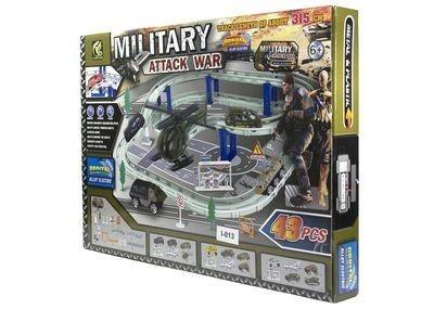 Купить Набор - Военная атака, трек 43 детали, Игрушки для мальчиков
