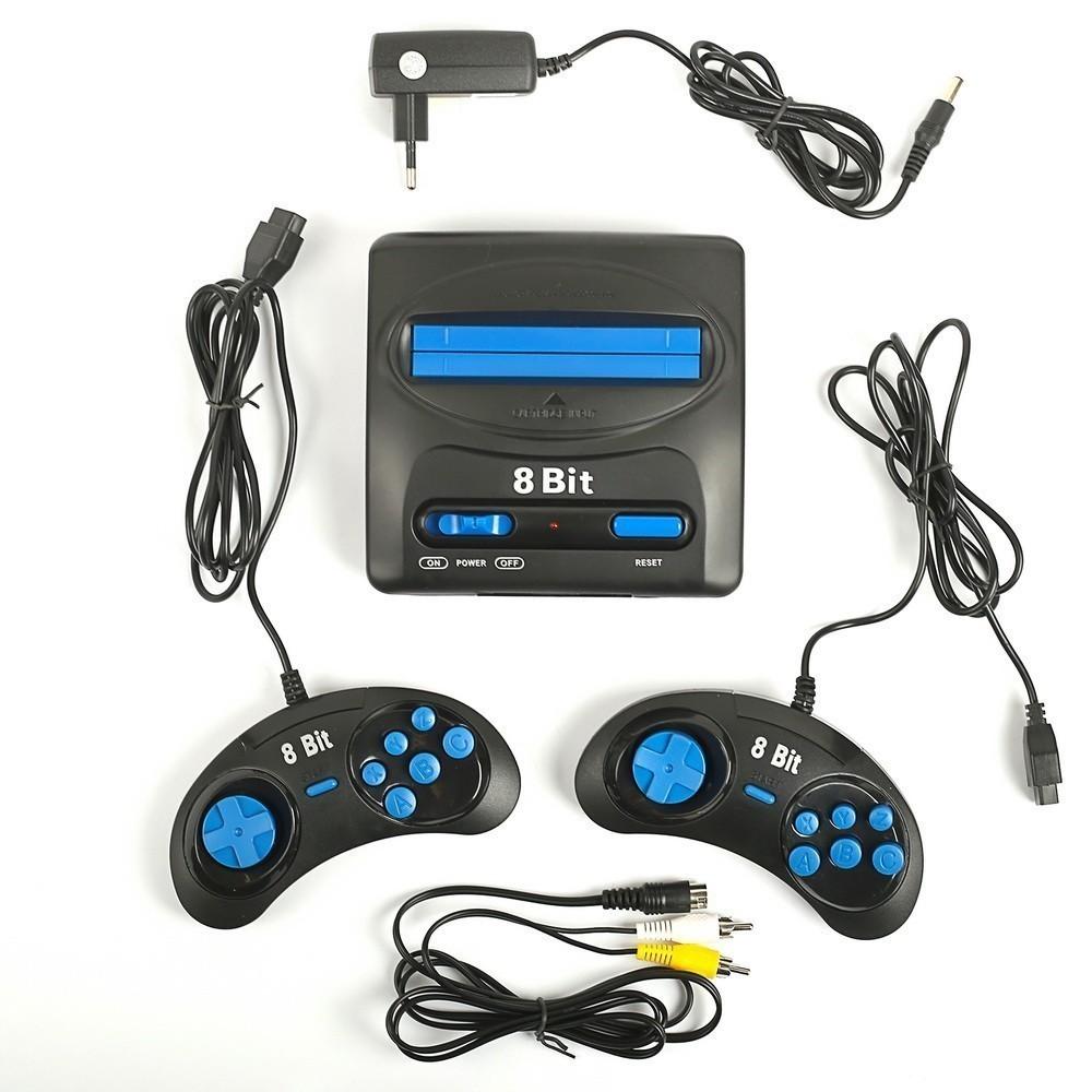 Игровая приставка DENDY KIDS, + 195 игрDendy и Sega<br>Ищете качественную и простую в эксплуатации приставку? Дети и взрослые будут в восторге от модели DENDY KIDS. В памяти устройства находится целых 195 игр, потому каждый член вашей семьи подберет что-то для себя по душе!<br>