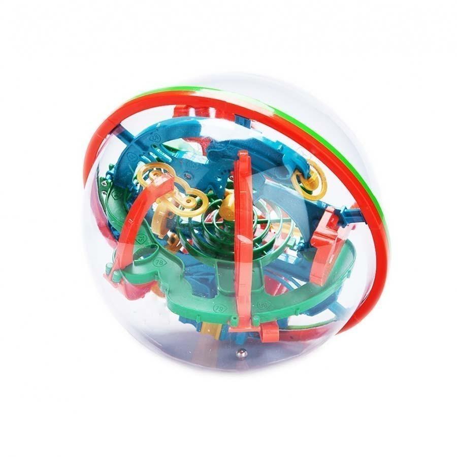 Шар-лабиринт - игрушка головоломкаОстальные игрушки<br>Хотите познакомиться с игрушкой, которая завлечет на долгое время и ребенка и взрослого в любом возрасте? Интернет магазин Мелеон представляет вам удивительный шар лабиринт, который много лет назад завоевал больше 30 всевозможных наград в самых разных странах мира! Эта головоломка никого не оставит равнодушным!<br>