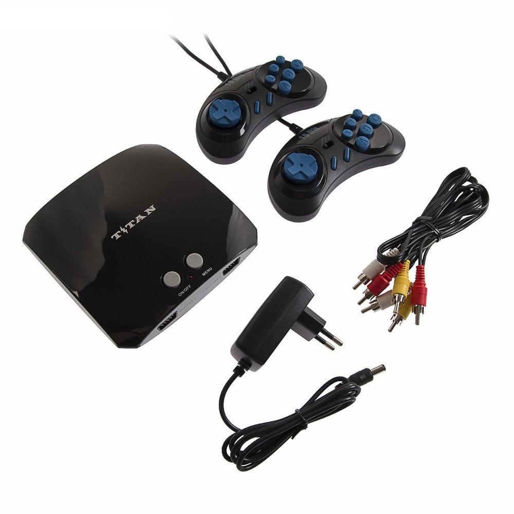 Игровая приставка Sega Магистр Titan 3, 16-bit, 500 игр, 2 геймпада
