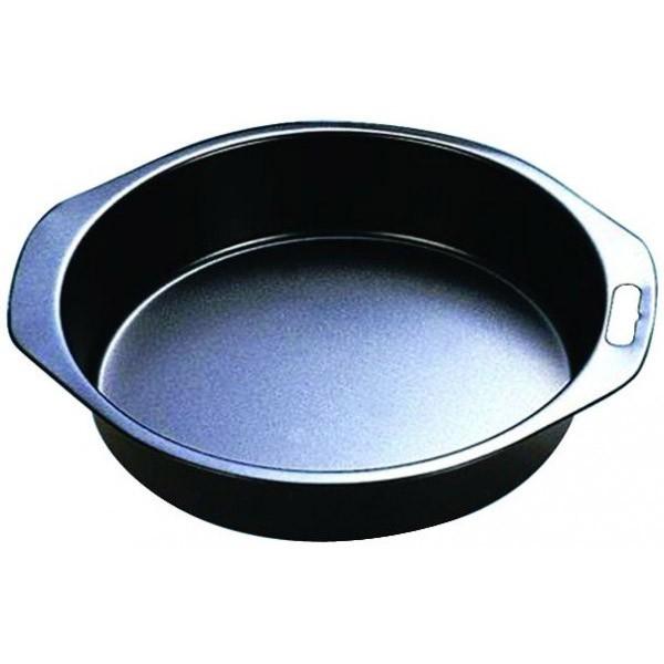 Форма для выпечки круглая Regent InoxПротивни и формы для запекания<br>Форма для выпечки пригодится в каждом доме. В ней можно сделать выпечку или запечь мясо. Благодаря антипригарному покрытию процесс приготовления станет значительно легче.<br>