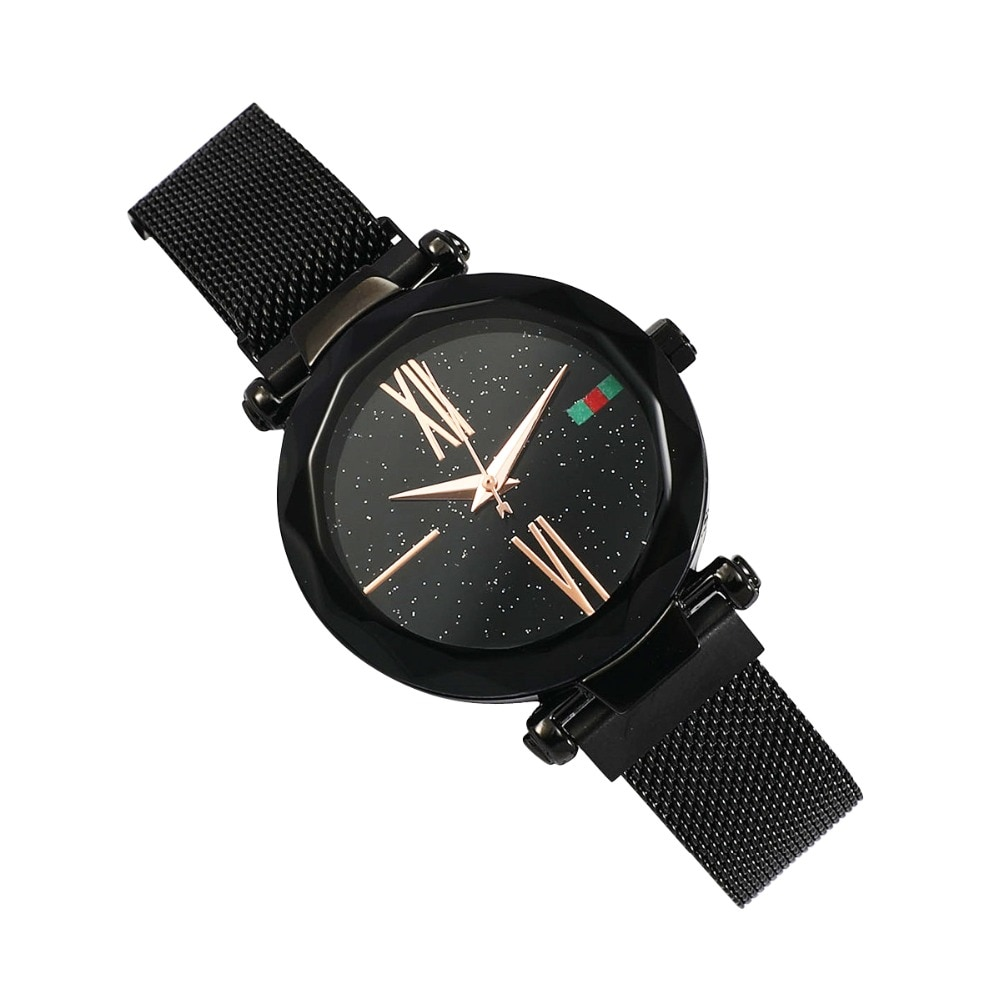 Женские наручные часы Starry Sky Watch, чёрный