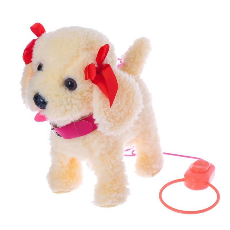 Интерактивная собака — Любимый щенок-2, ходит, лает, поет песенку, виляет хвостом