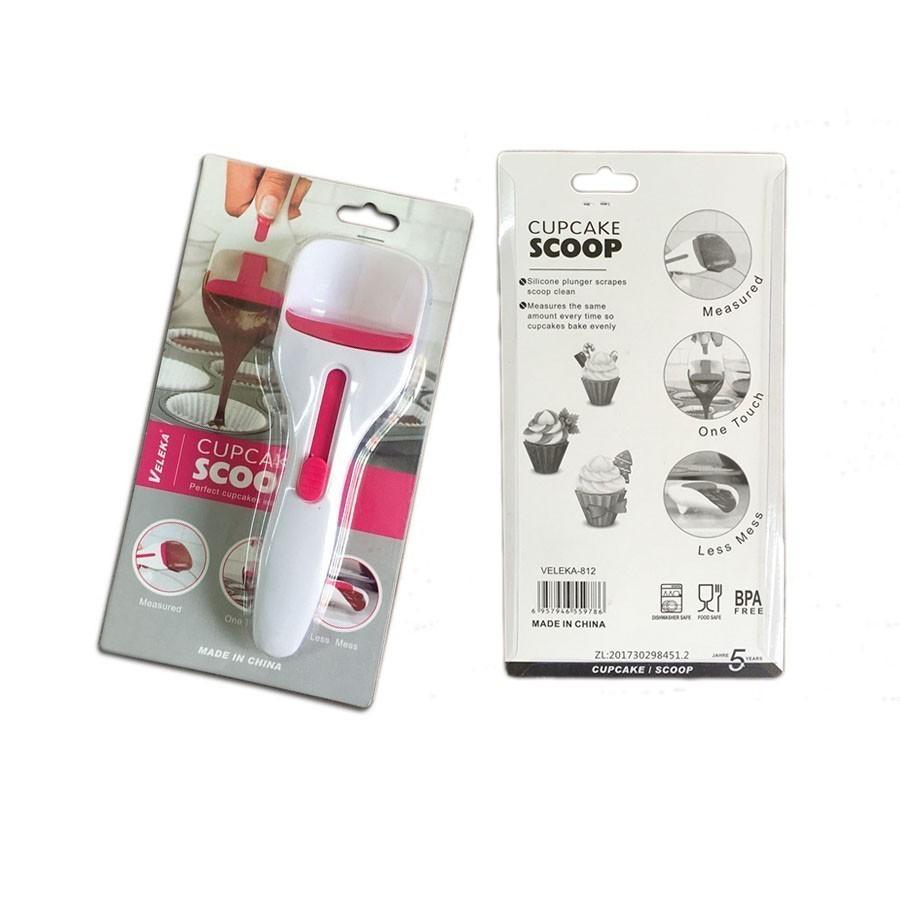 Лопатка-дозатор теста для кексов cupcake scoop