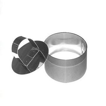 Кулинарная форма Круг - 7х5 см с прессомКулинарные формы<br>Кулинарная форма «Круг» с прессом пригодится для красивых подач салатов и второго как в ресторанах, так и в домашнем кругу.<br>