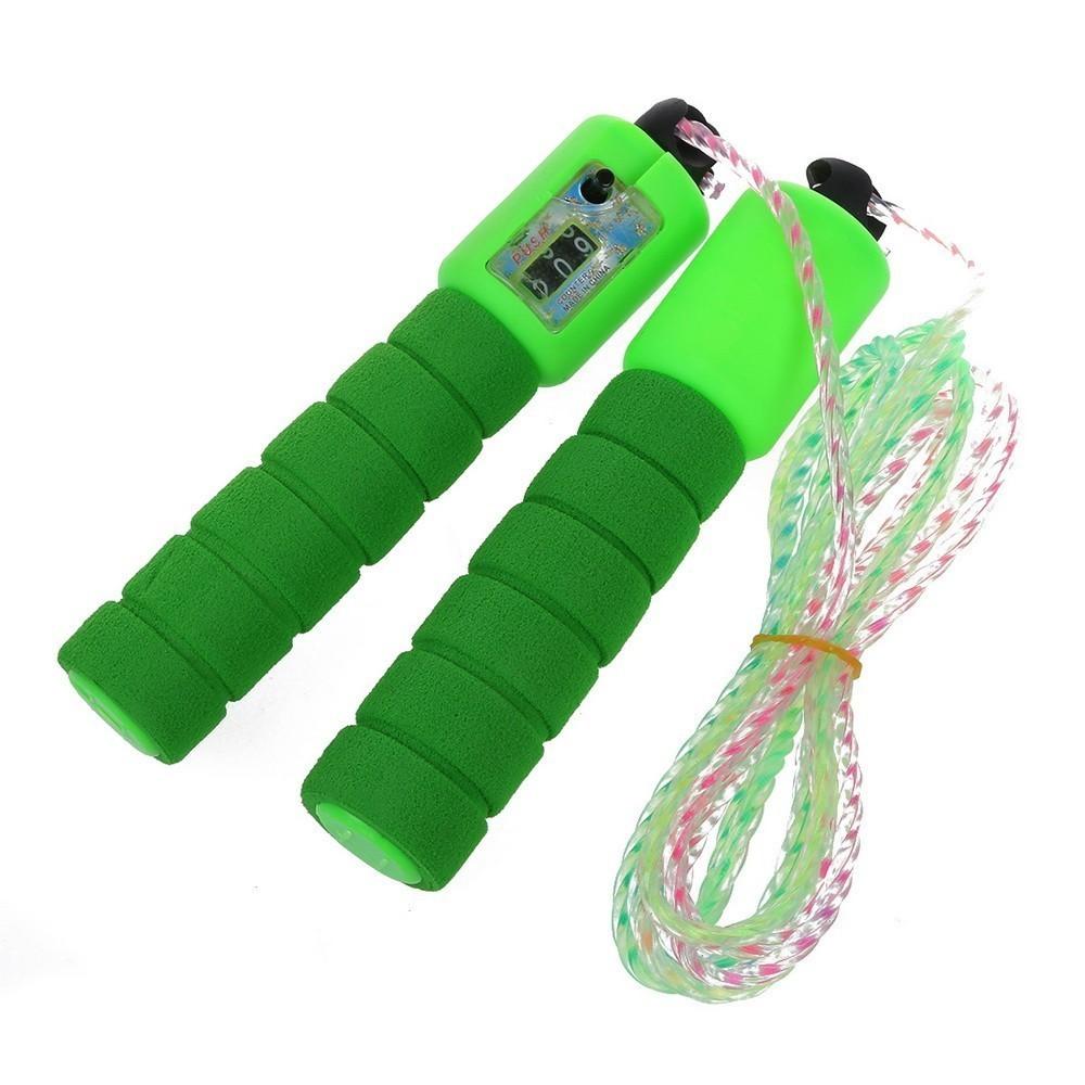 Скакалка со счётчиком прыжков Jump Rope, цвет микс