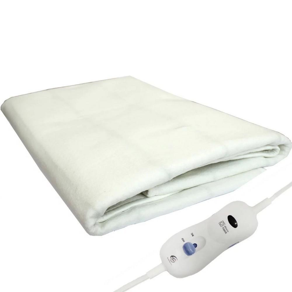 Согревай-ка Электропростынь (150 * 180 см)Грелки<br>Как согреться в холодное время года в домашних условиях, если отопление не балует, а включать повсеместно обогреватели не хочется? Надоело укладываться спать в холодную постель? вам нужно посмотреть по суперцене революционное изобретение, которое обеспечит вам максимум комфорта в спальне. С электропростынью Согревай-ка вы настроитесь на расслабление всего за пару секунд!<br>