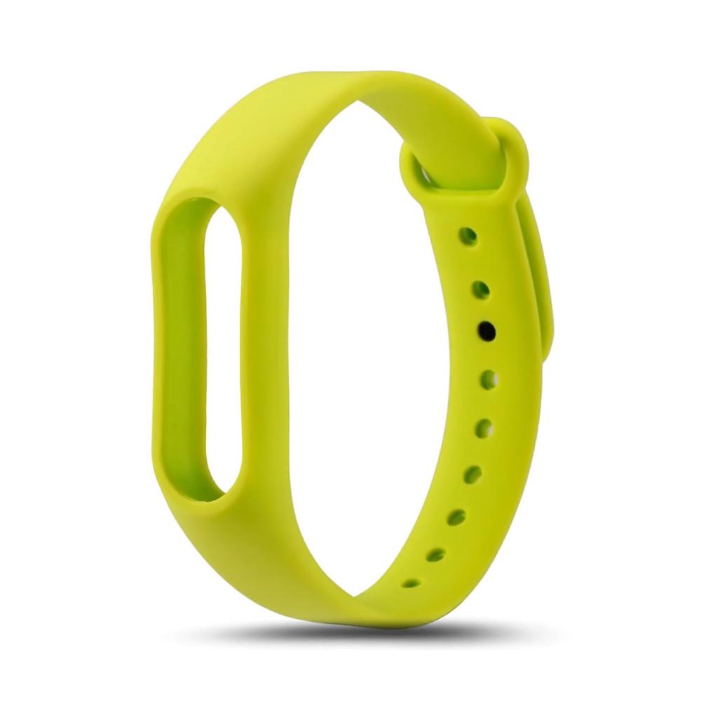 Ремешок для фитнес браслета Xiaomi Mi Band 2 Strap, зелёныйШагомеры и фитнес браслеты<br>Если вы являетесь истинным ценителей умных гаджетов, а также выбираете активный образ жизни, то точно используете фитнес браслет. Главная проблема владельцев подобных устройств – непривлекательный внешний вид ремешка. Именно эта деталь страдает чаще всего. Если вы хотите приобрести качественный аксессуар, который прослужит максимально долго, то обязательно обратите внимание на ремешок для фитнес браслета Xiaomi Mi Band 2 Strap!