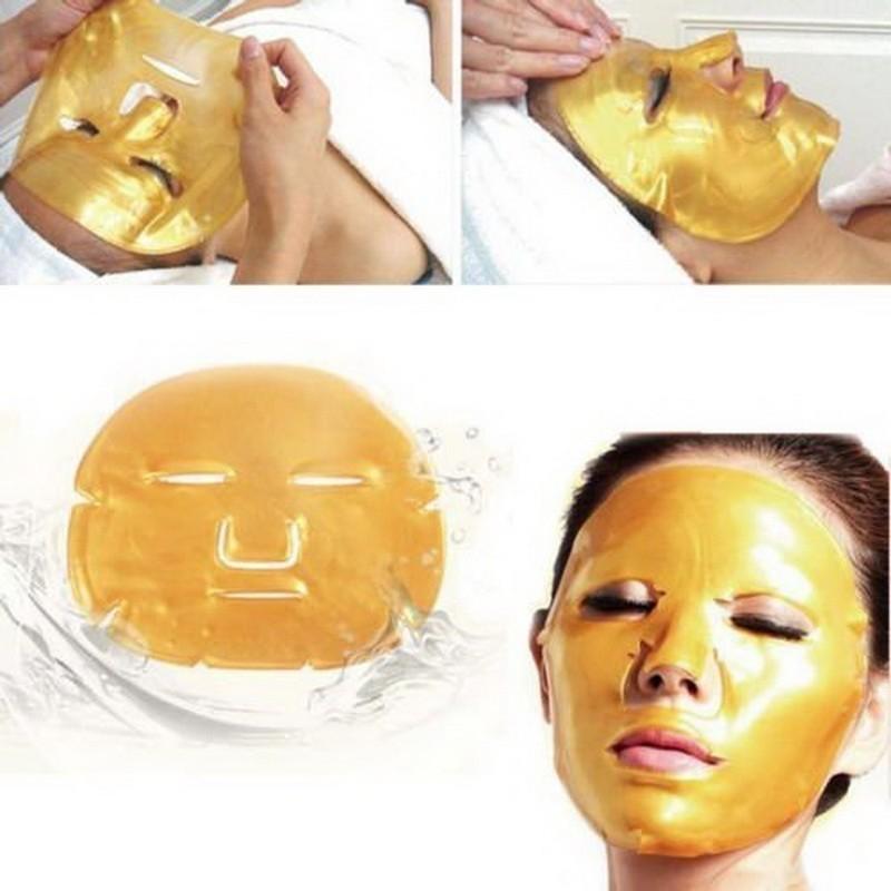 Коллагеновая маска для лица Crystal Collagen Gold Powder Facial Mask от MELEON